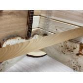 Клён Жареный заготовка накладки для бас-гитары Смешанный ААА 7х70х675мм