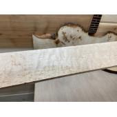 """Клён """"Птичий Глаз"""" заготовка накладки для бас-гитары 9х70х700мм"""