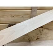 Клён заготовка грифа для Безголовой гитары Тангент АА 27х88х615 мм