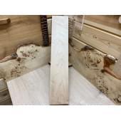 Клён заготовка грифа для Безголовой гитары Тангент АА 29х127х650 мм