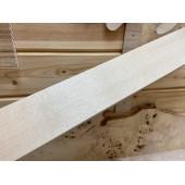 Клён заготовка грифа для Безголовой гитары Радиал АА 26х90х580 мм