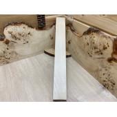 Клён заготовка грифа для Безголовой гитары Радиал ААА 23х70х580 мм