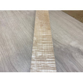 Клён Волнистый заготовка грифа для Безголовой гитары Смешанный АА Волна ААА 26х72х595 мм