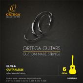 GLNY-6 Комплект струн для гитарлеле, Ortega