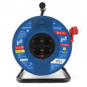 PC20503 PowerCube Удлинитель на катушке 16А/3,5 кВт, 3х1,5мм2, 50м, Электрическая мануфактура