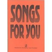 Songs for you. Популярные песни на английском языке, составитель В.Бровко, издательство «Композитор»
