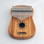 KMT-3 Требл Guitar Калимба резонаторная, 17 язычков, дуб, Мозеръ