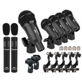 T8400 Комплект микрофонов для ударных, Alctron