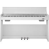 WK-310-White Цифровое пианино на стойке с педалями, белое, Nux Cherub