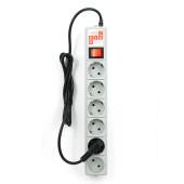 SPG(5+1)-B-6 PowerCube Фильтр-удлинитель 1.9м 10А/2,2кВт, Электрическая мануфактура