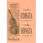 Васкс П. Соната для контрабаса соло, издательство «Композитор»