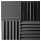 АП12 Панель поролон Blind 300х300х50 (4шт в упаковке), серый, АТЕХ