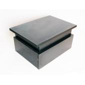 Lut-FS01-BK Подставка под ноги юного пианиста, черная, Lutner