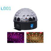 L001 Светодиодный эффект «магический шар», DMX, 6x3Вт, Big Dipper
