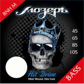 BNH-M Hit Drive Комплект струн для бас-гитары, никелевый сплав, 45-105, Мозеръ