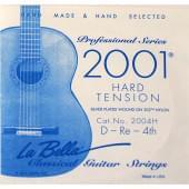 2004H Отдельная 4-я струна для гитары посеребреная La Bella