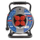 PC44803 PowerCube Удлинитель на катушке 16А/3.5кВт, 4 роз., 50м 3х2,50мм2, Электрическая мануфактура