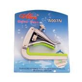 A007N-C/SL Каподастр для классической гитары, серебристый, Alice