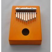 KMKr-2-OR Escudo Калимба, резонаторная, 10 язычков, трапеция, оранжевая, Мозеръ