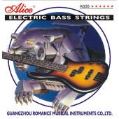 A606(4)-L Комплект струн для бас-гитары, никель, 40-95 [10] Alice