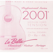 2004MH Отдельная 4-я струна для гитары посеребреная La Bella