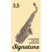FR19SA06 Signature Трости для саксофона альт № 3,5 (10шт), FedotovReeds