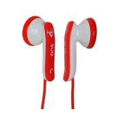 JB-One-RW JB Series Наушники вкладыши, красный/белый, Fischer Audio