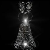 GH-XL023 Колокольчик хрустальный «Свадьба», большой, Гусь Хрустальный