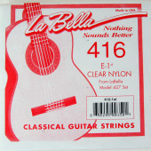 416 Отдельная струна №1 нейлон La Bella