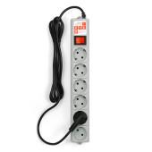 SPG(5+1)-B-10 PowerCube Фильтр-удлинитель 3м 10А/2,2кВт, Электрическая мануфактура