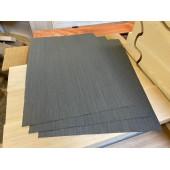 Шпон файн-лайн Эбен черный 0,5мм / 350-380 / 550-570мм.