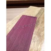 Амарант, бланк накладки для электрогитары