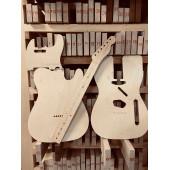 Fender Telecaster, полный комплект для фрезеровки гитары, фанера 8мм